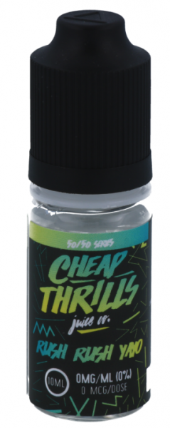 Cheap Thrills - Rush Rush - E-Zigaretten Liquid
