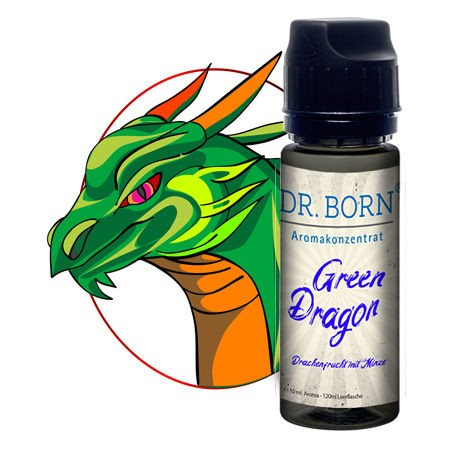 Green Dragon Aroma Konzentrat 10ml in 120ml Leerflasche