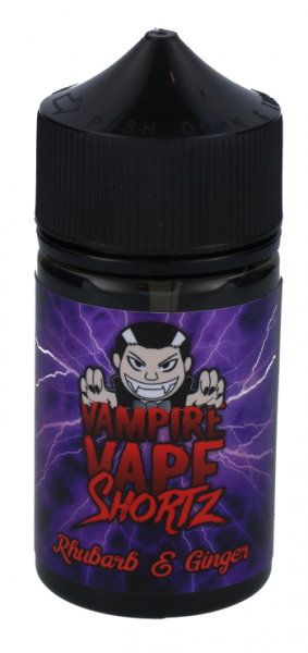 Vampire Vape Shortz - Rhubarb & Ginger - 0mg/ml