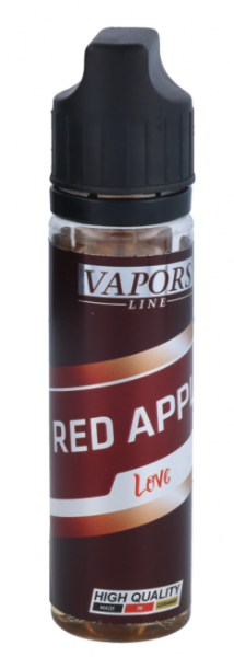 Vapors Line - Red Apple Love 0mg/ml 50ml