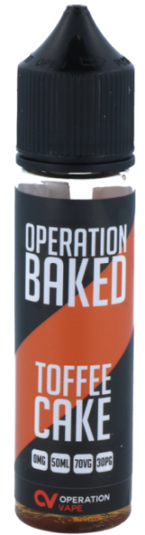 Operation Baked - Toffee Cake - 50ml 0mg