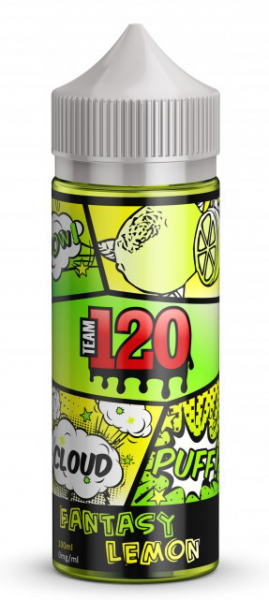 Team 120 - Fantasy Lemon 100ml 0 mg/ml