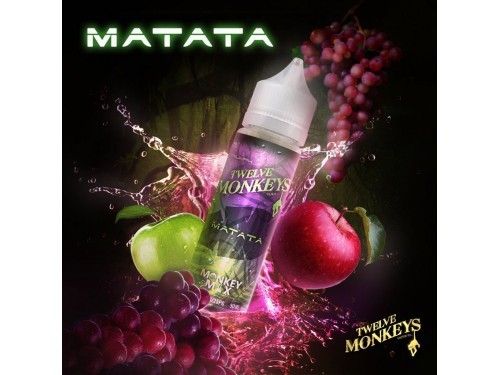Twelve Monkeys-Matata Overdosed Liquid 50 ml