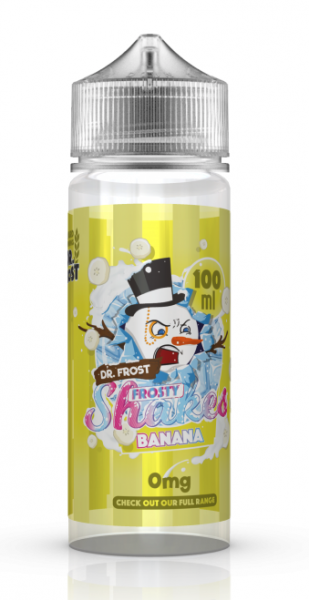 Dr. Frost - Frosty Shakes - Banana 0mg/ml